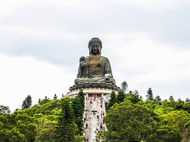 The Big Buddha on Lantau Island
