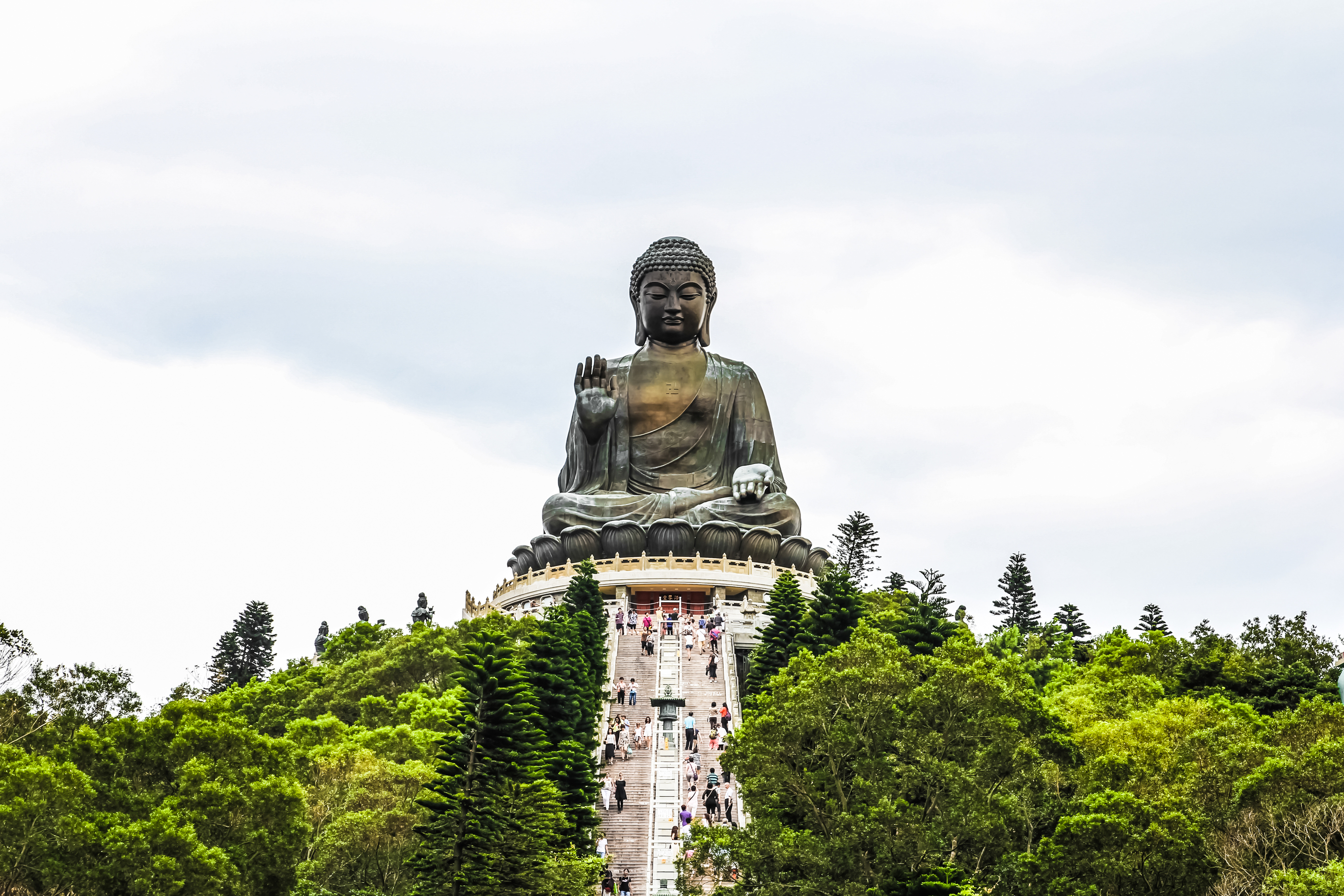 The Big Buddha (Tian Tan Buddha)