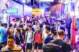 HK20 Lan Kwai Fong Handover Party