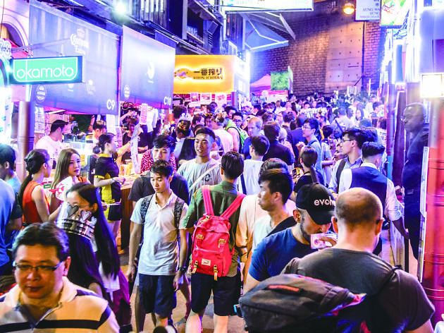 Check out the nightlife beyond LKF
