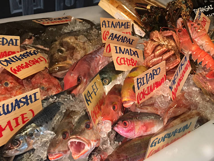 Feast on sumptuous seafood