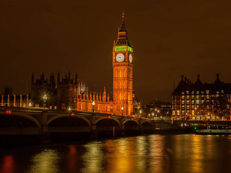 Private night photography tour of London