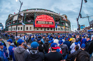 The Chicago Cubs are offering a $10 ticket lottery for every home game this season