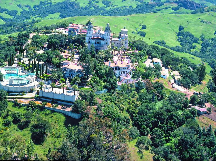 San Simeon, CA: Hearst Castle