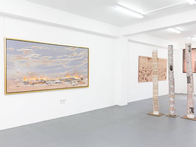 Michael Reid Gallery Sydney 2017 interior installation view 01 courtesy Michael Reid Gallery photographer credit Simon Hewson