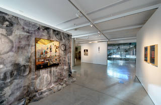 UTS Gallery 2016 interior installation view The Mnemonic Mirror courtesy UTS Gallery 2017 photographer credit David Lawrey