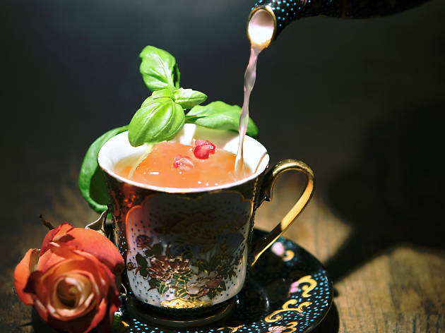 Try tipsy tea at At Six