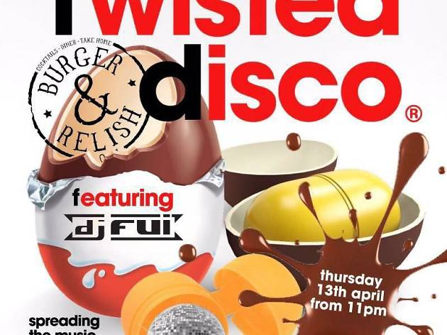 Twisted Disco at Burger & Relish