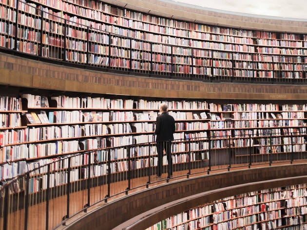 Be a bookworm at the National Library of Sweden