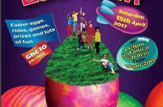 Easter Egg Hunt at Legon Botanical Gardens