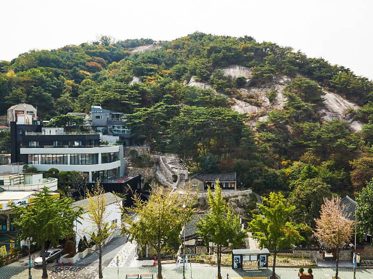 서울 같지 않은 서울 풍경, 석파랑