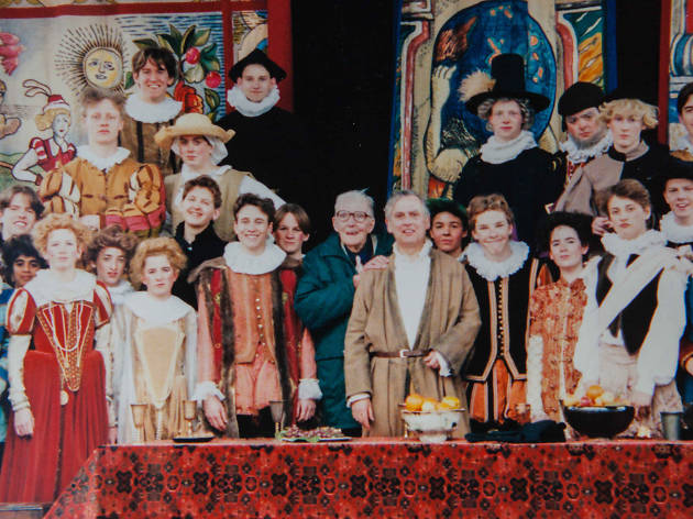 Young Benedict Cumberbatch in Taming of the Shrew at the Globe