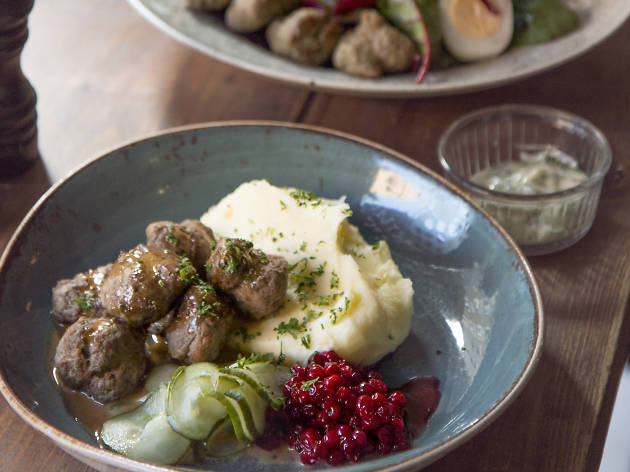 Taste the modern Swedish meatball