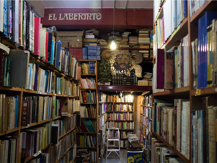 Visit an old bookstore in the Historic Centre