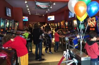 Modern Pinball Birthday Parties