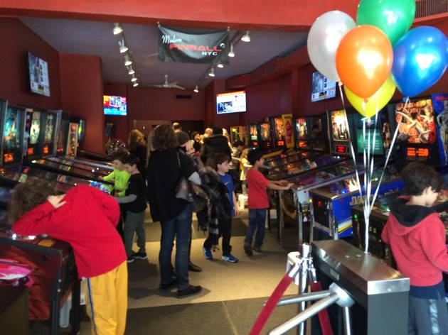 Modern Pinball Birthday Parties