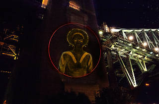 Projection on Sydney Harbour Bridge