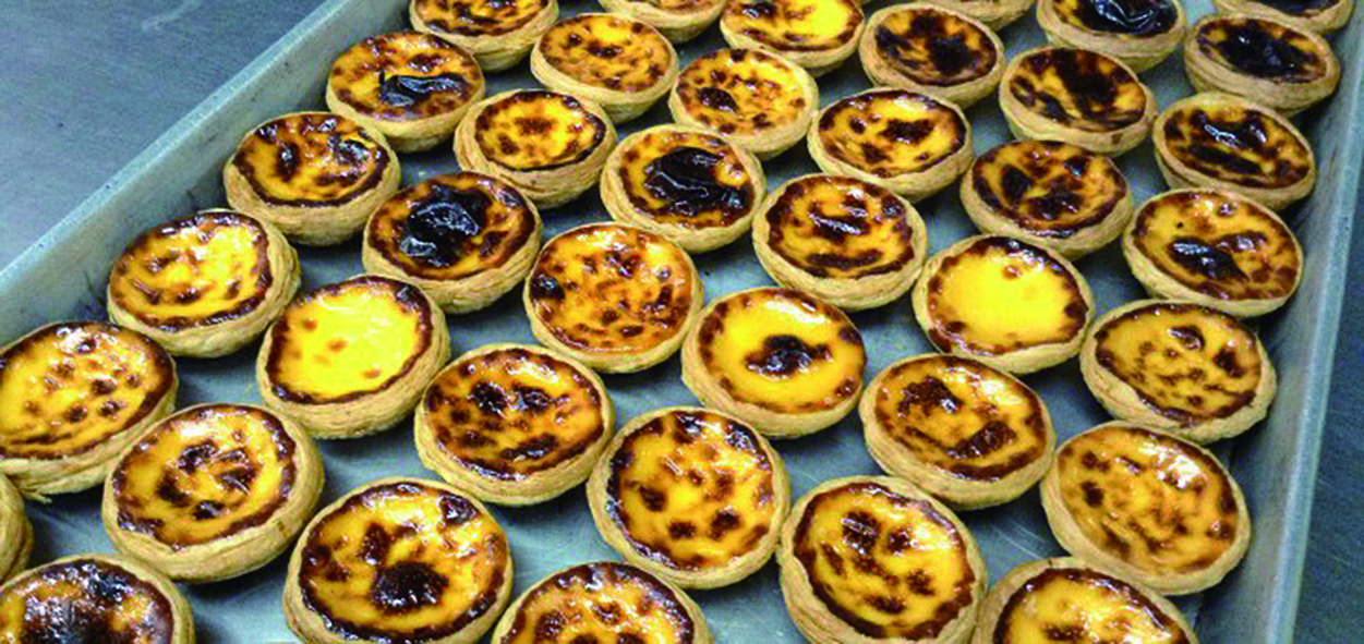 Lord Stowe egg tarts