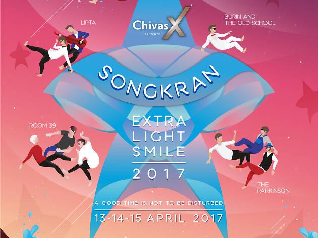 Chivas presents Songkran Extra Smile