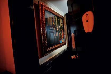 Hidden paintings at China Club