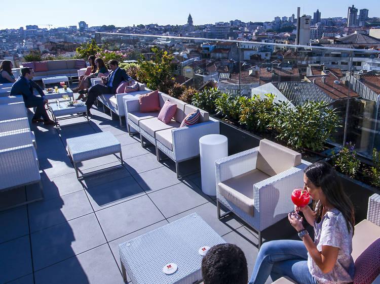 Os melhores bares de hotel no Porto