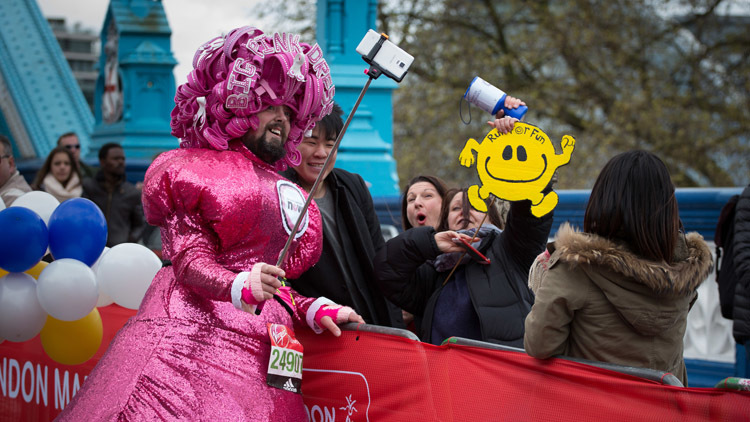 Seven types of people to look out for at the London Marathon