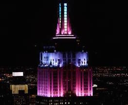 The Empire State Building is turning into a giant Easter egg on Sunday