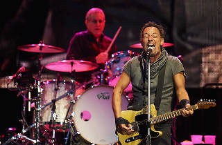 Bruce Springsteen and the E-Street Band in concert at the Santiago Bernabeu Stadium, Madrid, Spain - 21 May 2016