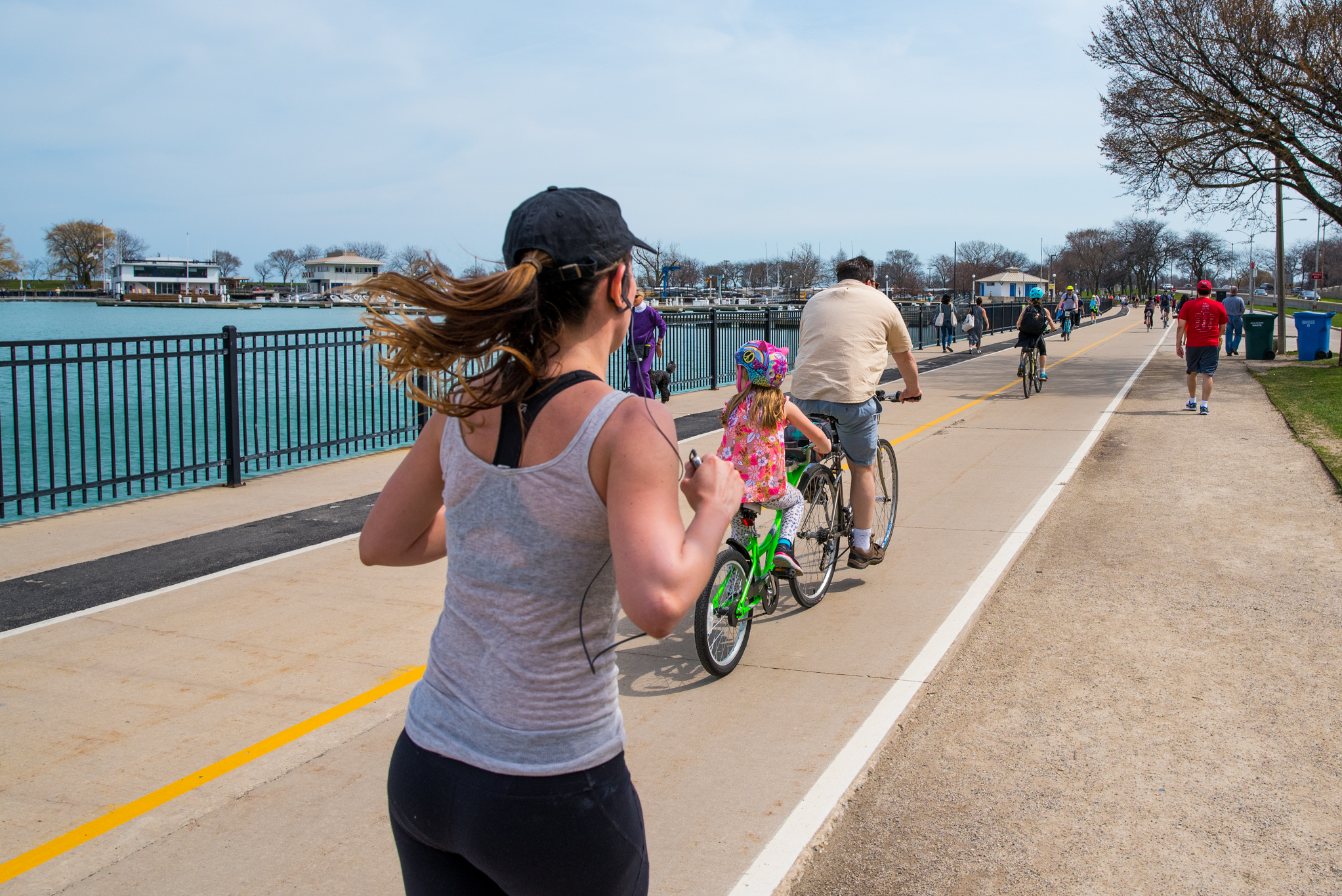 "Chicago's Lakefront Trail is closed to the public ""until further notice"""