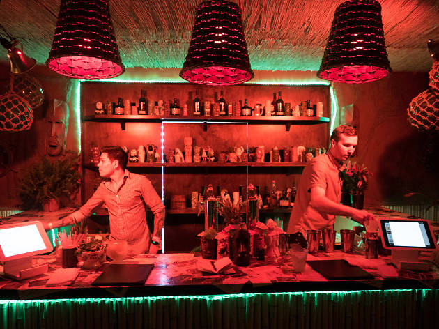 There's a hidden tiki bar waiting for you at Coachella