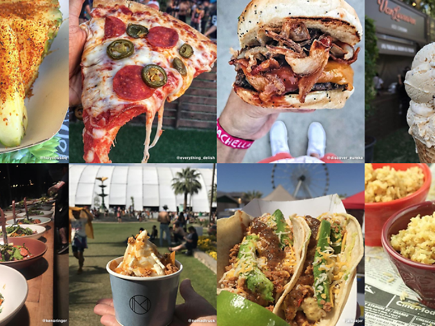 This interactive grid has the most delicious Instagrams of food at Coachella