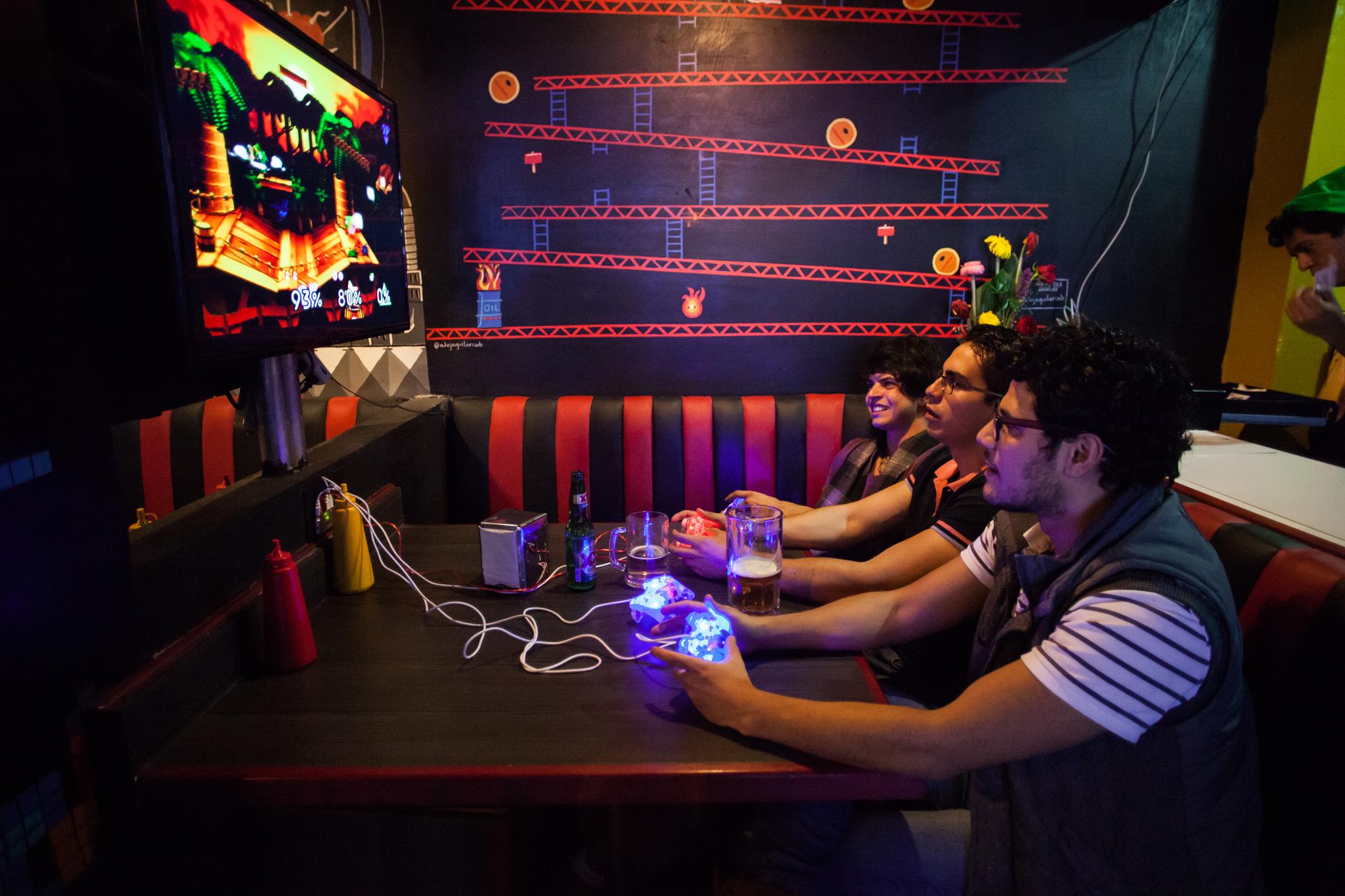 Checkpoint bar de videojuegos