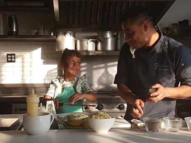 La Lonchera del chef: Fernando Martínez y Cossette