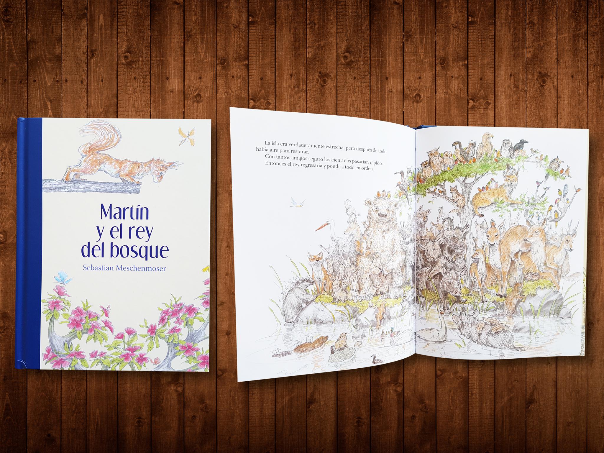 Martín y el rey del bosque