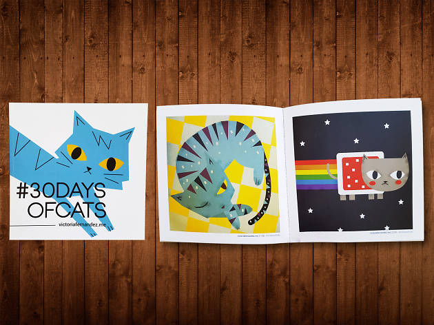 Libro #30daysofcats