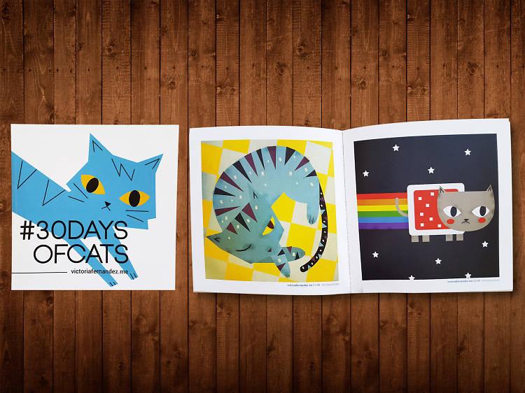 #30 Days of Cats, de Victoria Fernández
