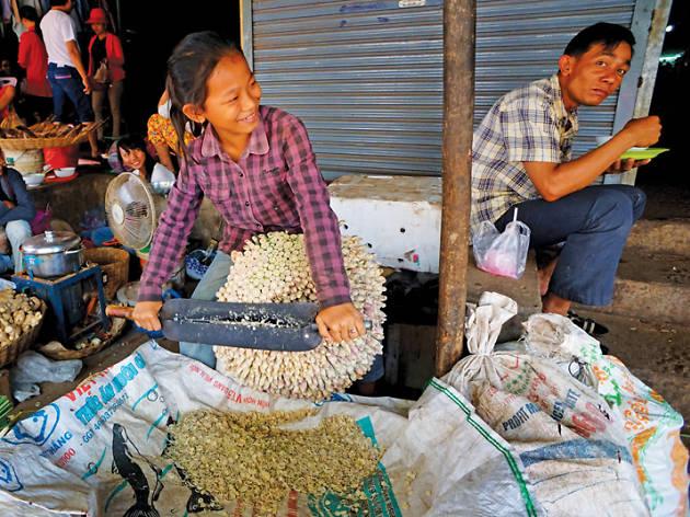 Street food in Siem Reap