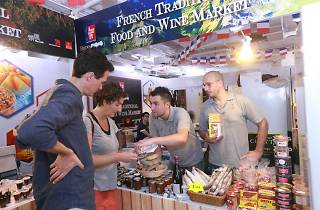French Traditional Gourmet Market