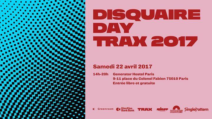 Disquaire Day Trax 2017