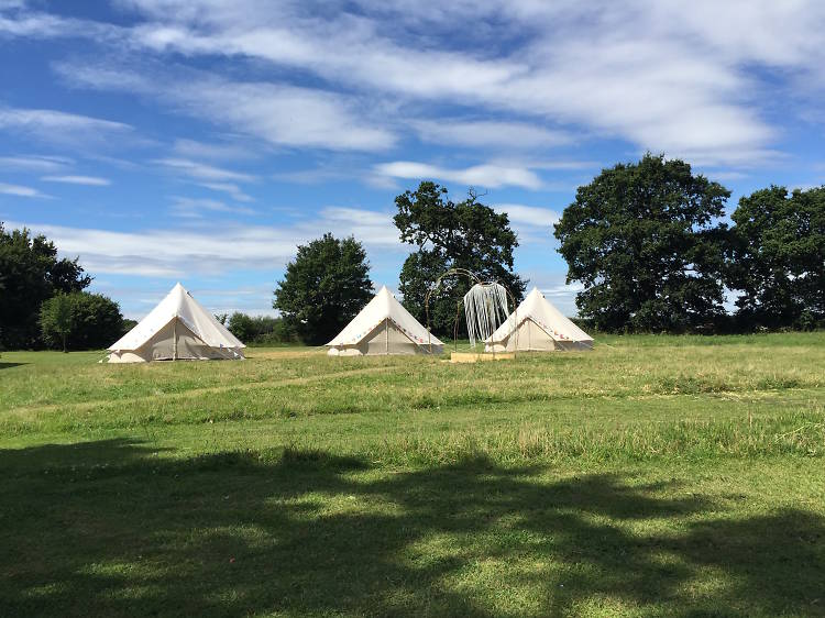 The Fire Pit Camp, Norfolk