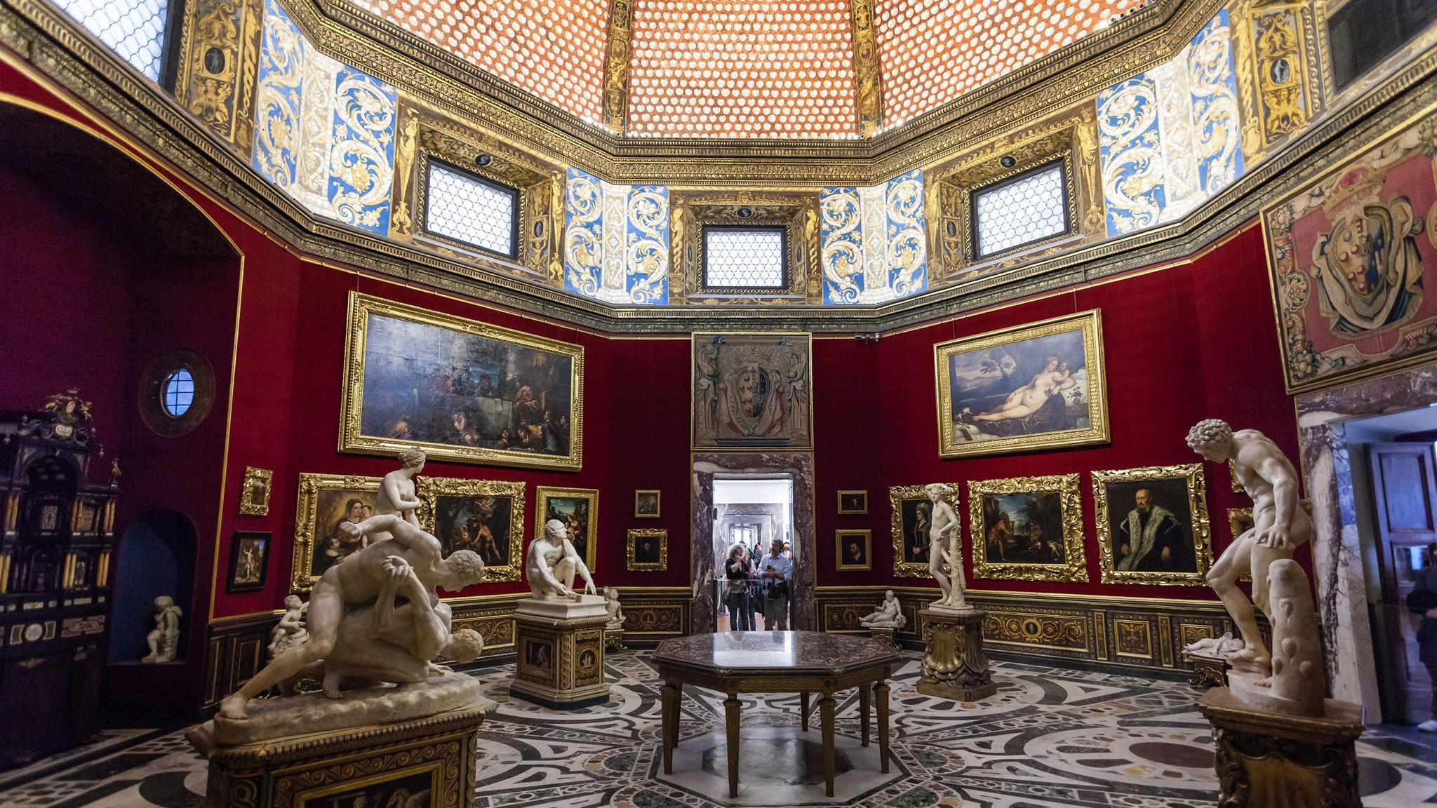 Florence attractions: Uffizi