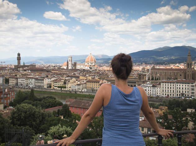 Florence attractions: Piazzale Michelangelo