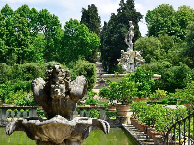 Florence attractions: Boboli Gardens