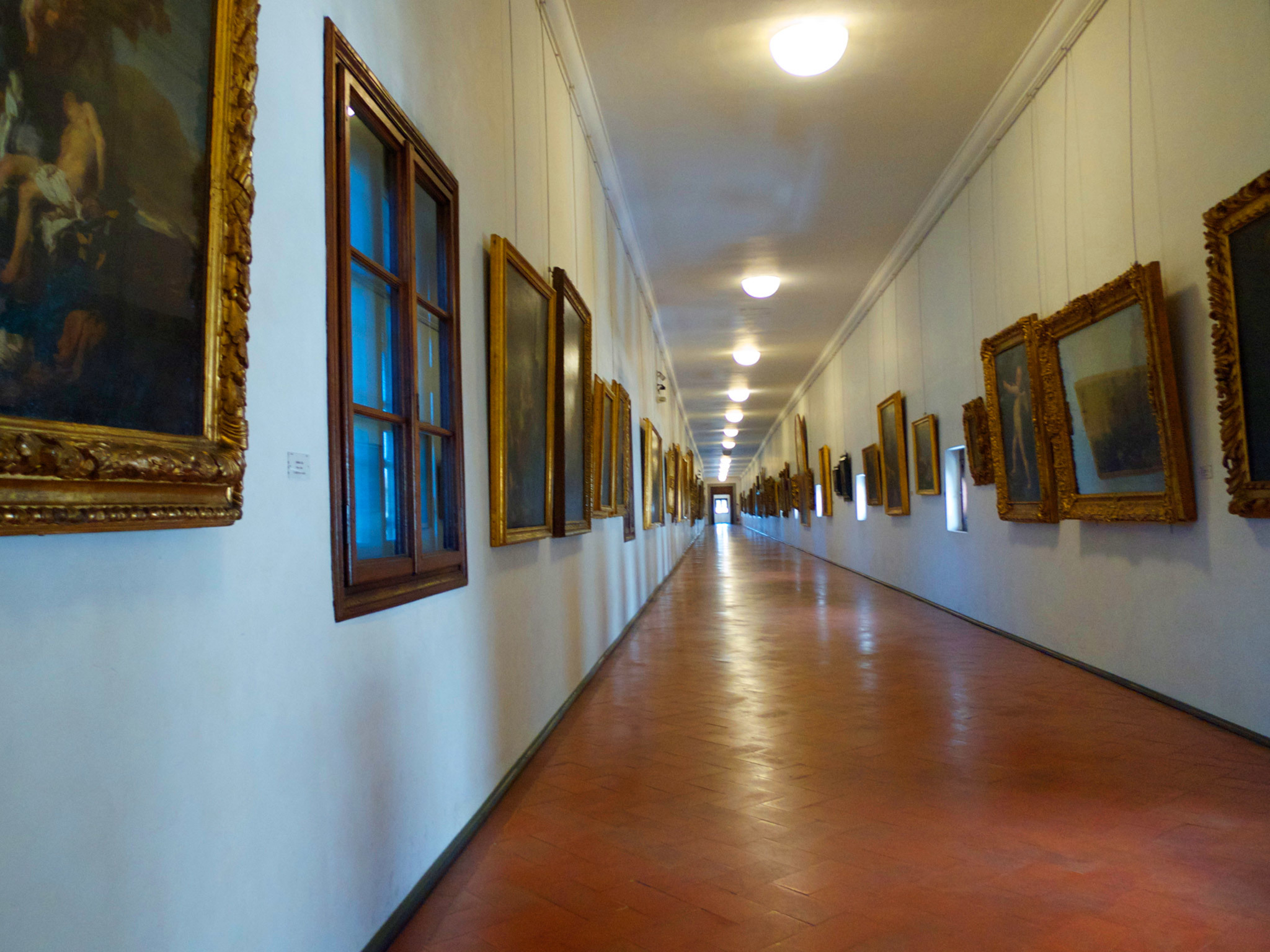 Florence attractions: Vasari Corridor