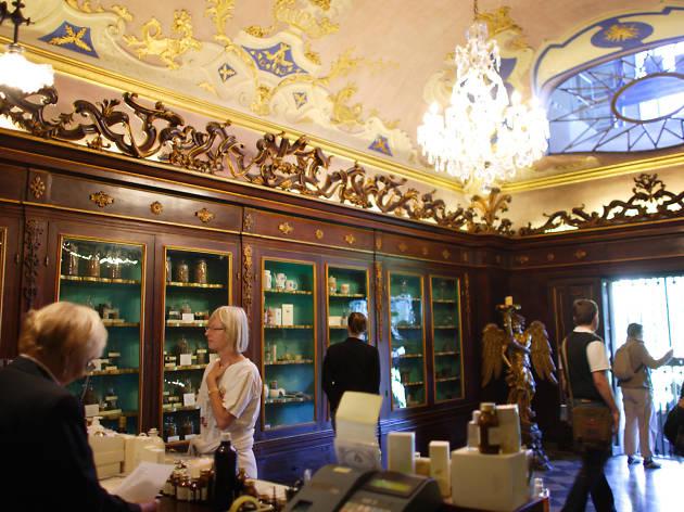 Florence attractions: Farmacia Santa Maria Novella