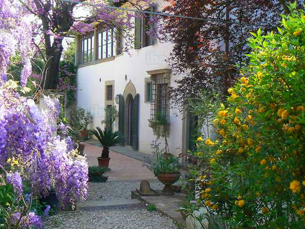 Florence attractions: Villa Il Palmerino