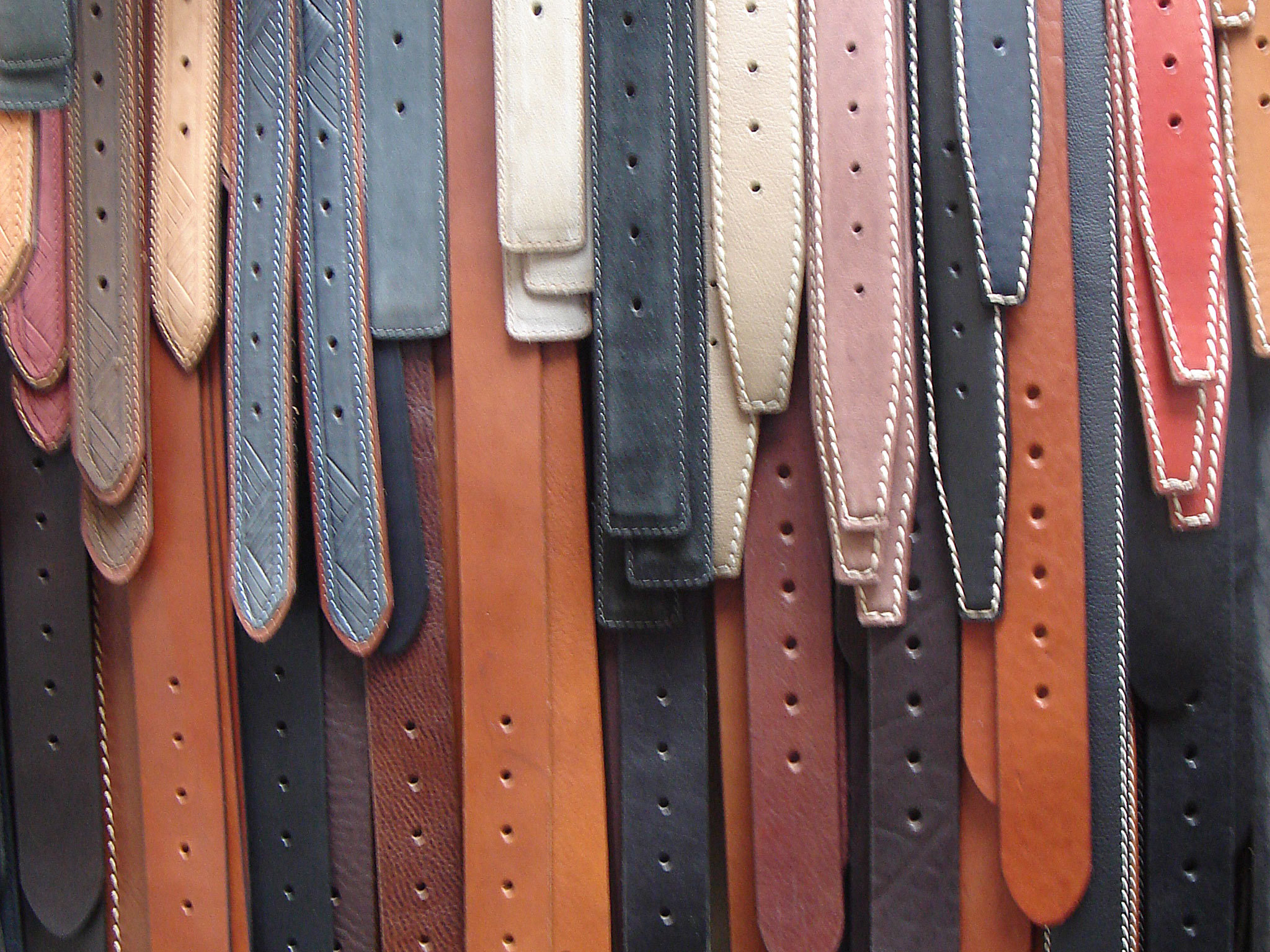 Florence attractions: leather