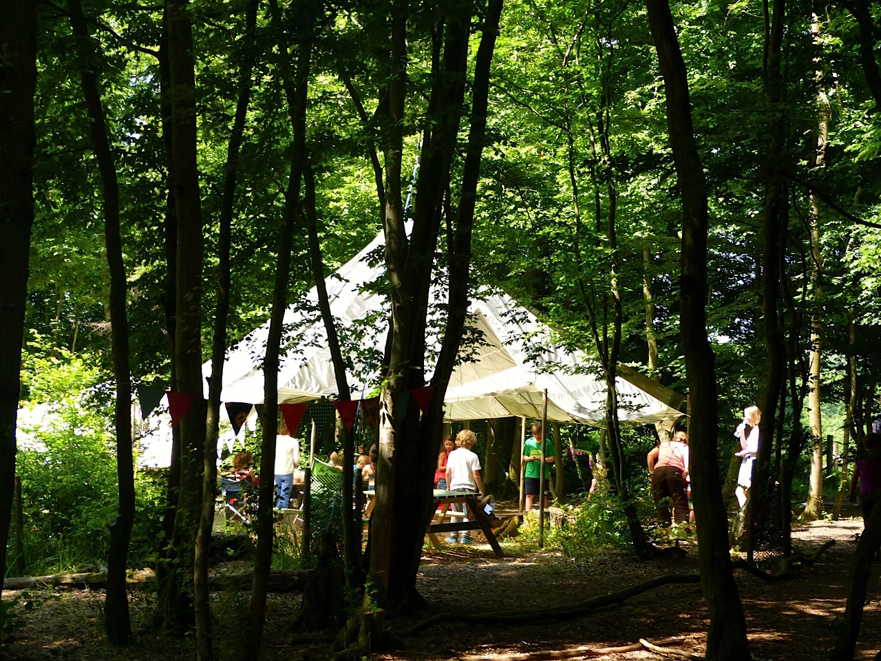 Eco Camp at Wild Boar Wood, best campsites near London, 2017