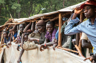 Forzados a huir (Foto: Cortesía Médicos Sin Fronteras)