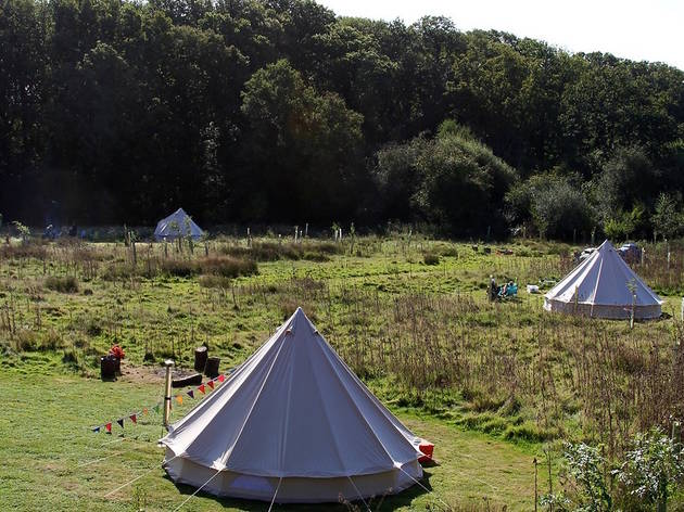 The Secret Campsite, East Sussex, best campsites near London, 2017